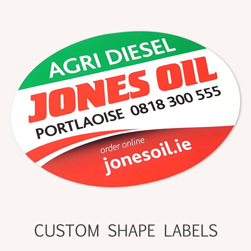 custom shape labels